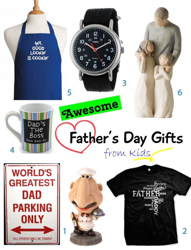 2014 Fathers Day Gifts from Kids