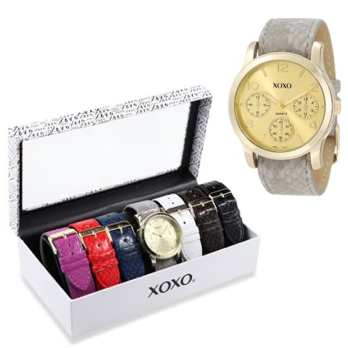 XOXO Seven Color Watch Set
