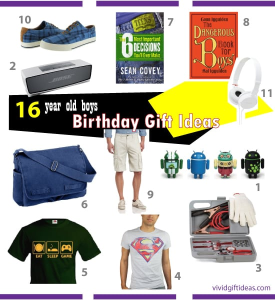 Birthday Gifts for 16 Year Old Boys