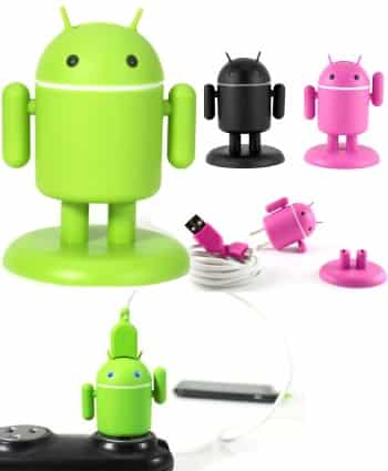 Andru Android Robot USB Cell Phone Charger