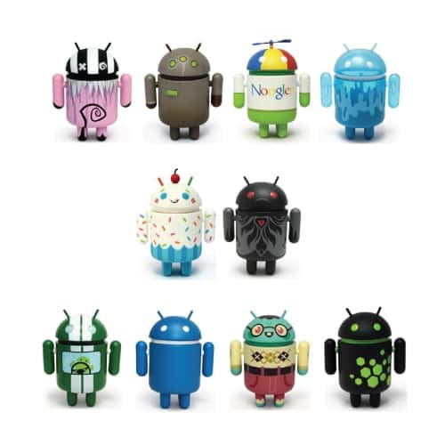 Google Android Mini Figures Collection