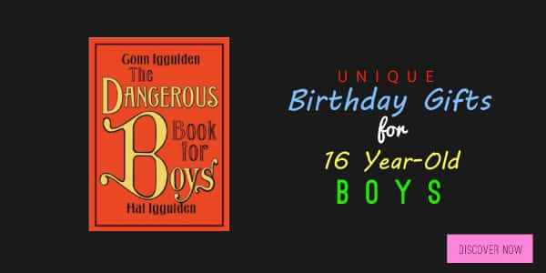 Birthday Gift Ideas for 16 Year-Old Boys