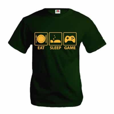 T-Shirt Eat Sleep Game
