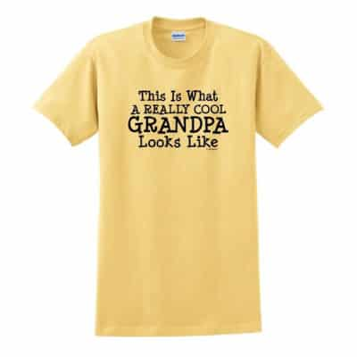 Grandpa Shirt (Yellow)