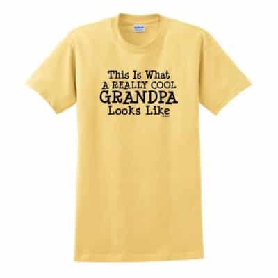 Grandpa Shirt (Yellow)