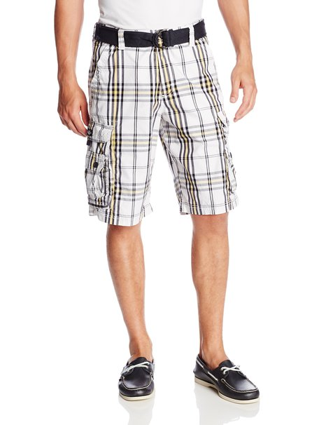 Lee Men's Dungarees Wyoming Belted Cargo Short