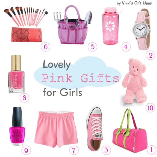 Pink Gifts for Girls