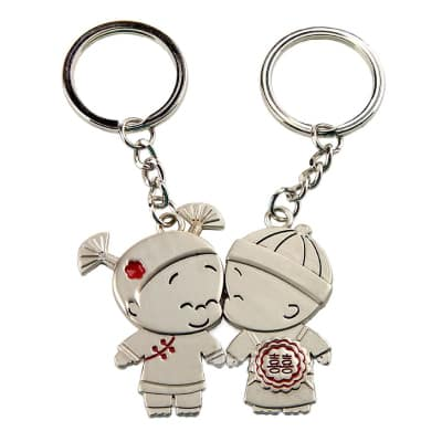 issing Love Couple Keychain