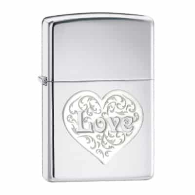 Zippo Love Pocket Lighter