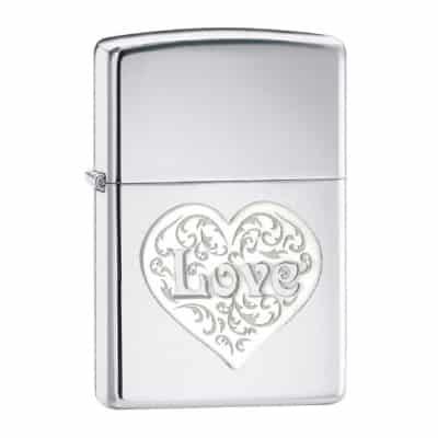 Zippo Love Pocket Lighter