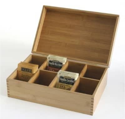 Lipper International Bamboo Storage Box