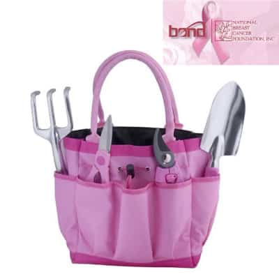 Bond Pink Garden Tool Bag Gift Set