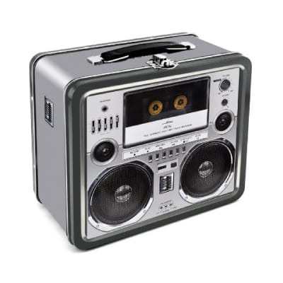 Boombox Tin Lunch Box