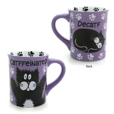 Enesco Lorrie Veasey Catffeinated Mug