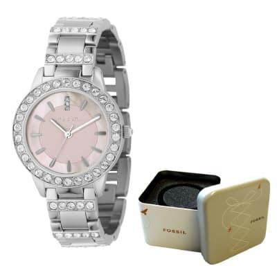 Fossil Women's Stainless Steel Bracelet Watch