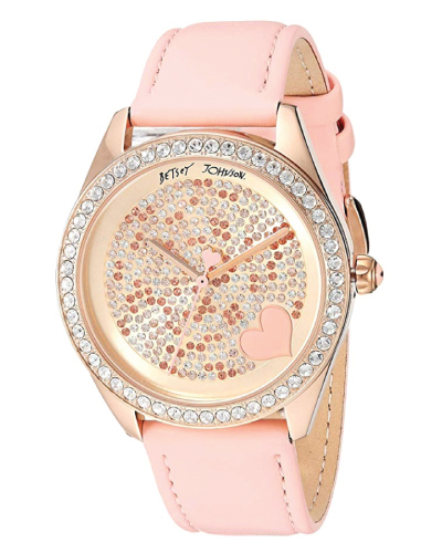 Betsey Johnson Mixed Stone Watch