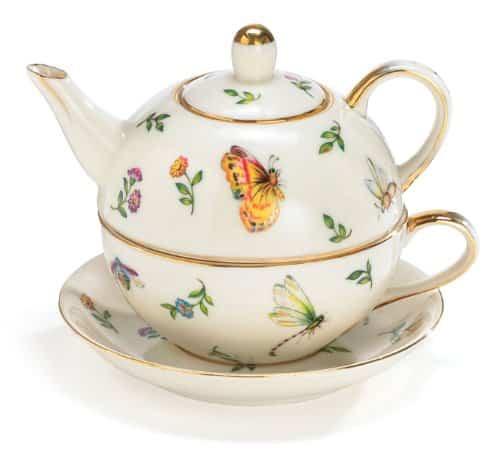 Burton & Burton Porcelain Teapot Set