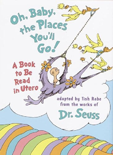 Oh, Baby, the Places You'll Go! A book to be read in Utero