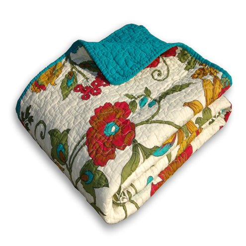 Greenland Home Clearwater Quilted Throw