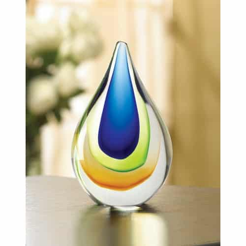 Art Glass Teardrop
