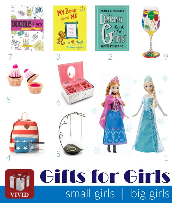 10 Gift Ideas for Girls