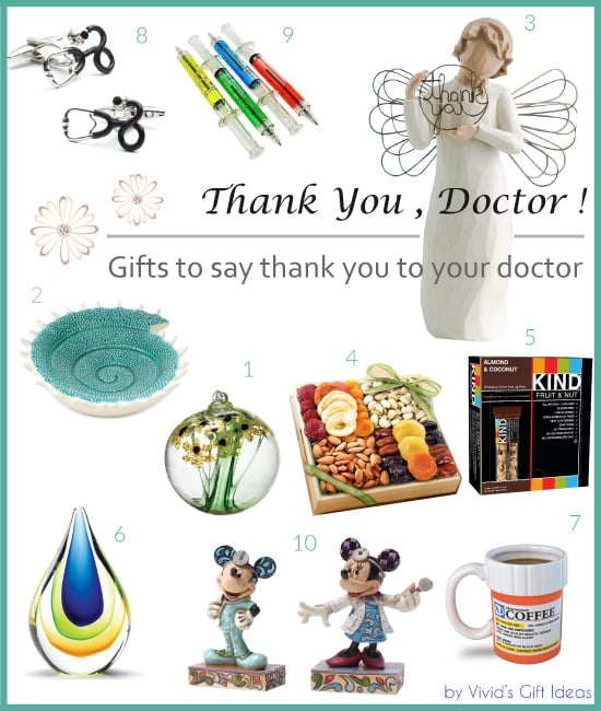 Thank You Gifts for Doctor