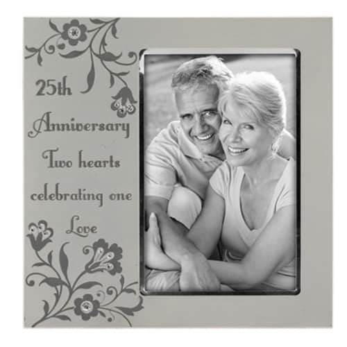 Malden 25th Anniversary Picture Frame