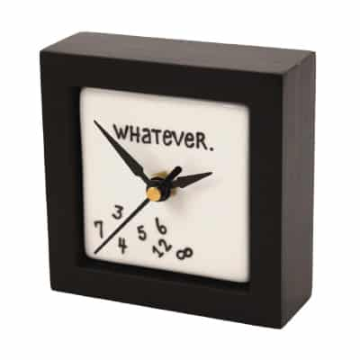 Whatever Clock - Retirement Gifts