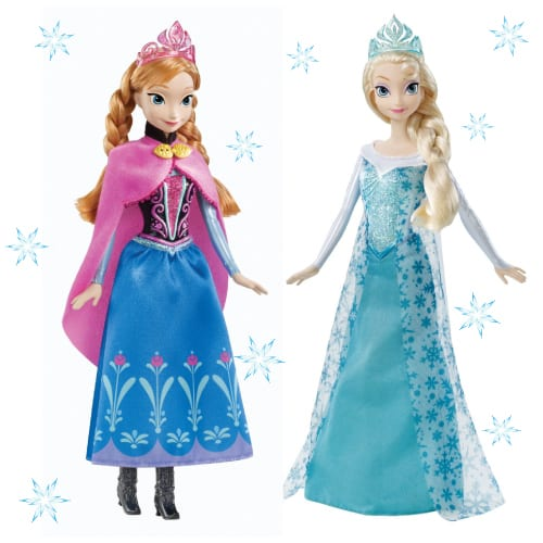 Disney Frozen Elsa and Anna Dolls