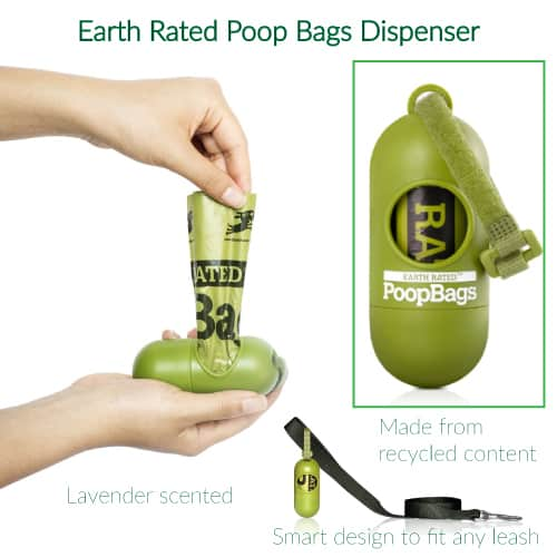 Earth Rated Dog Waste Poop Bags | Gifts for dog lovers