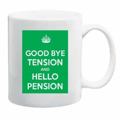 Keep Calm Retirement Mug - Retirement Gifts