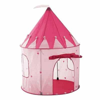 Girl's Pink Princess Castle Play Tent by Pockos