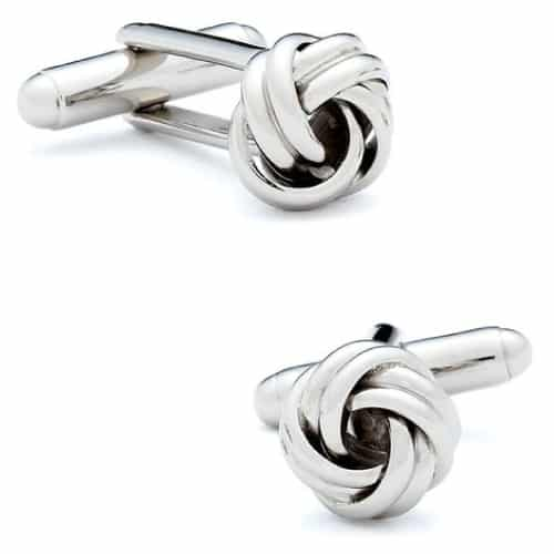 Knot Cufflinks by Quality Stays