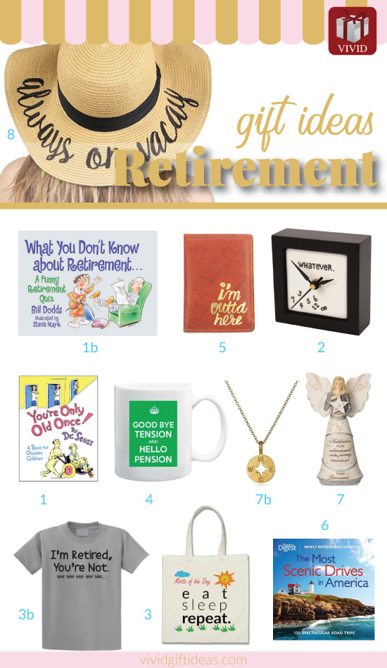 Retirement Gifts For Women and Men