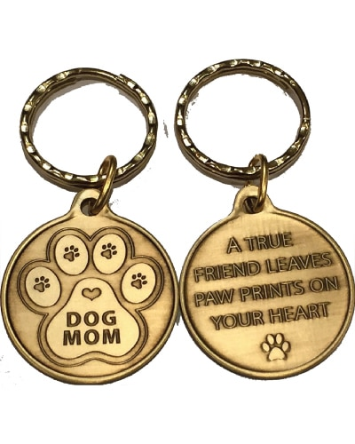 Dog Mom Keychain | Gifts For Dog Moms
