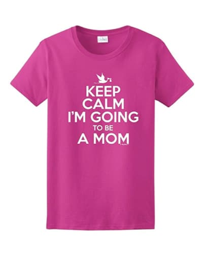 Keep Calm I'm Going to Be a Mom T-Shirt