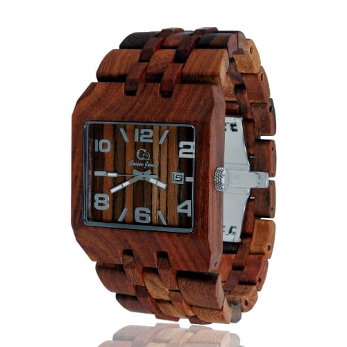 Gassen James Omega Wooden Watch
