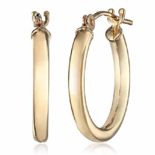 Duragold 14k Gold Hoop Earrings