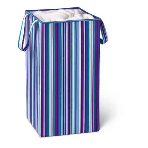 Honey-Can-Do Foldable Square Hamper | Going to College Gifts