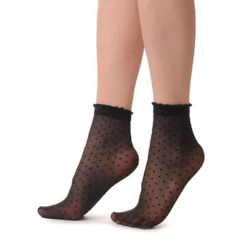 Lisskiss Opaque Ankle Socks