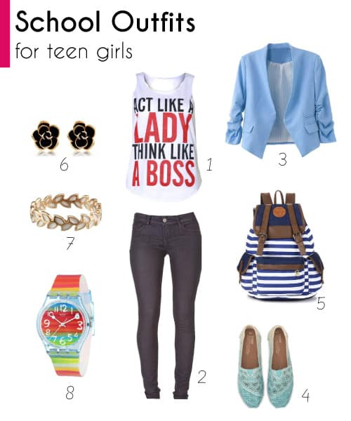 School Outfits for Teen Girls