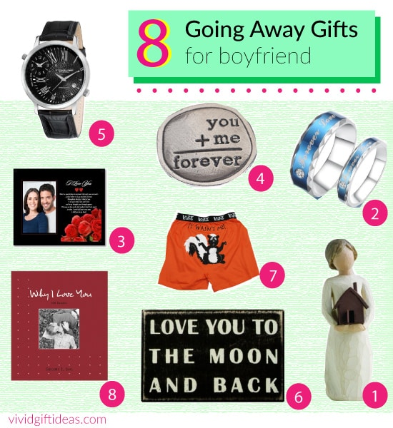 going away gift ideas for boyfriend - Going Away Gifts for Boyfriend