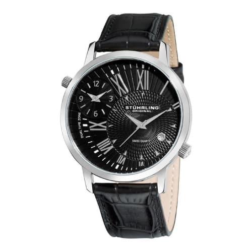 going away gift ideas for boyfriend - Stuhrling Original Men's Symphony Eclipse Watch