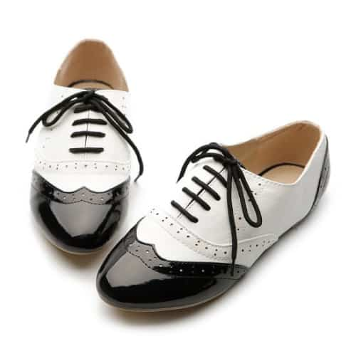 Ollio Classics Lace Up Oxford Shoes