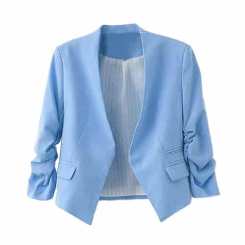 Zacoo Folding Sleeve Blazer
