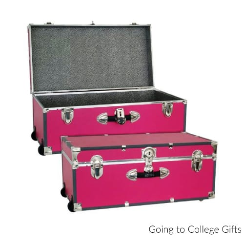"""The Collegiate """"I"""" Collection StorageTrunk (Pink) 