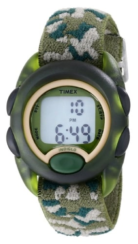 Timex Kids Digital Watch with Camouflage Band