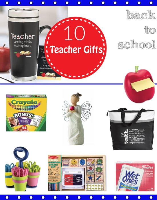 10 Back to School Teacher Gifts