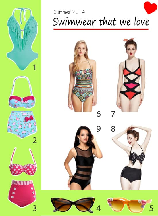 Swimsuits 2014