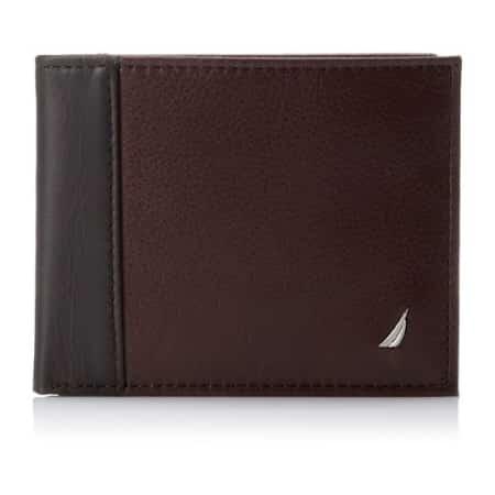 Nautica Men's Milled Passcase Wallet
